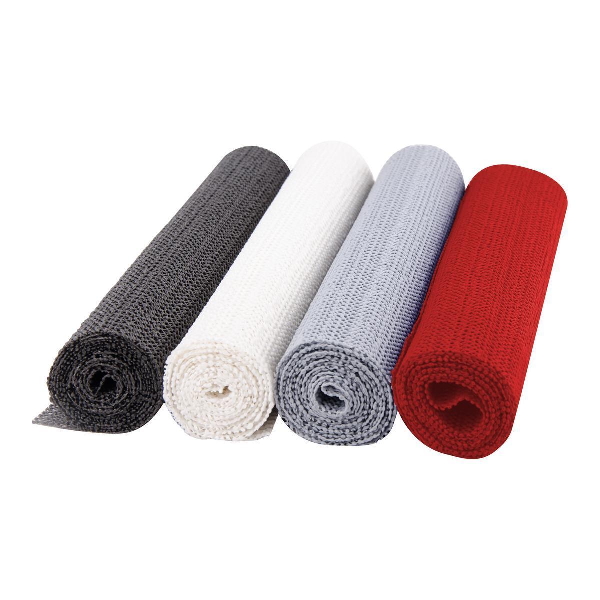 tapis anti derapant noir blanc marron