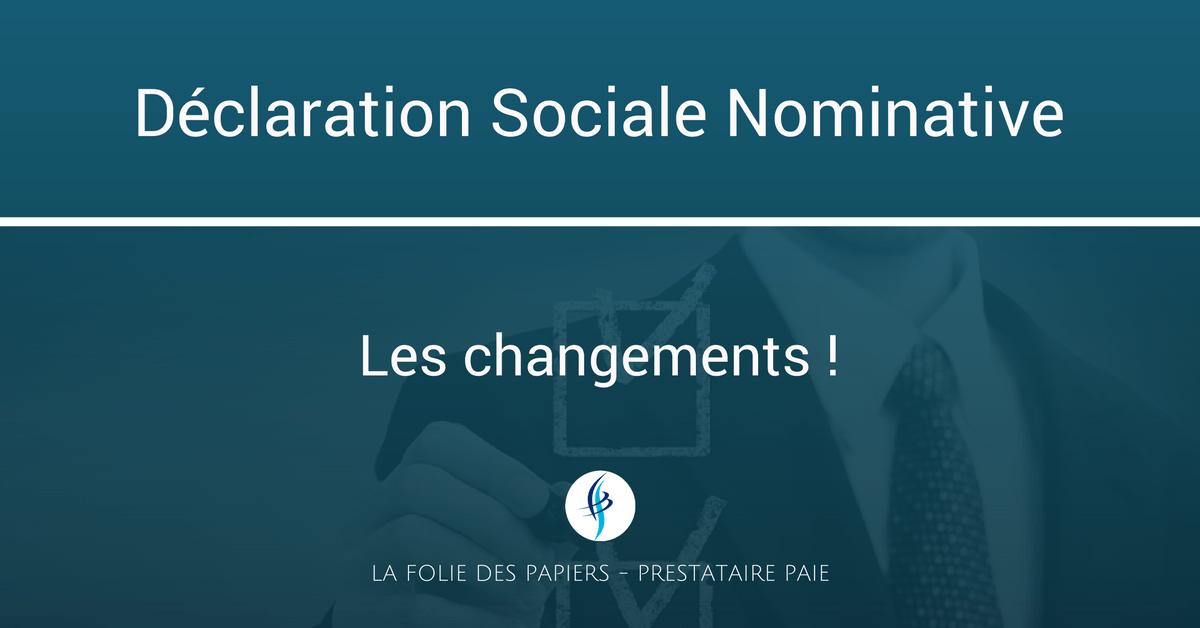 Declaration Sociale Nominative Dsn Le Blog Special Paie