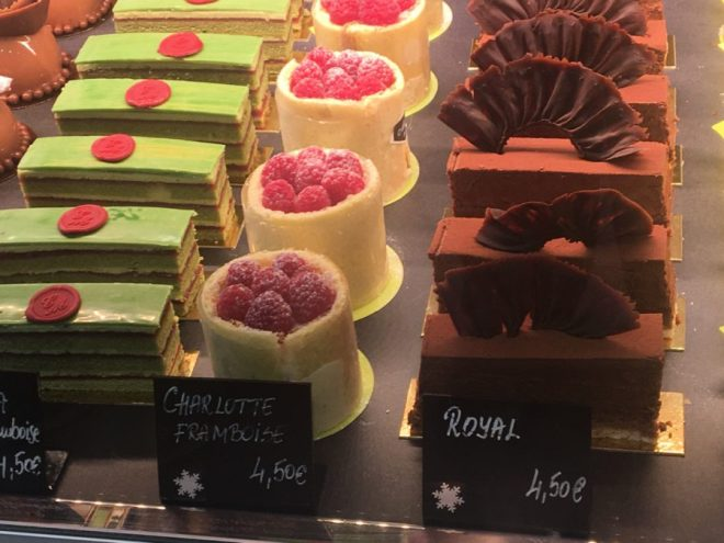 parisian sweets window