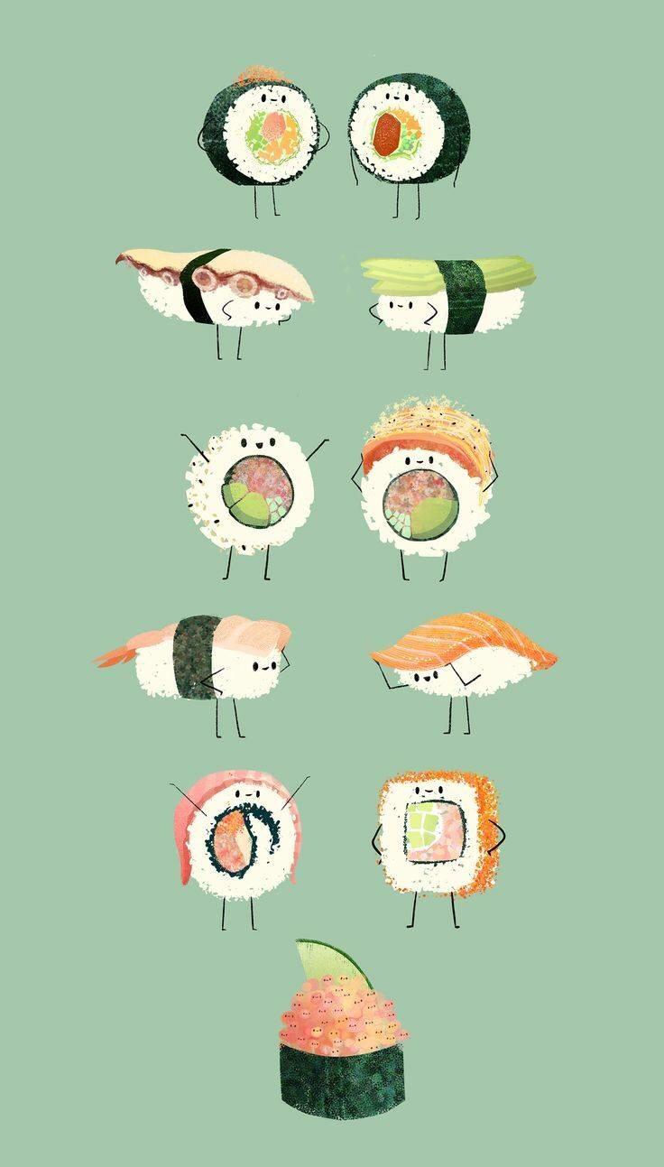 sushi by Syd Weiler