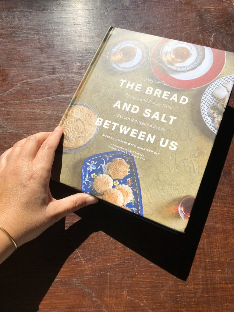 the bread and the salt in between us cover