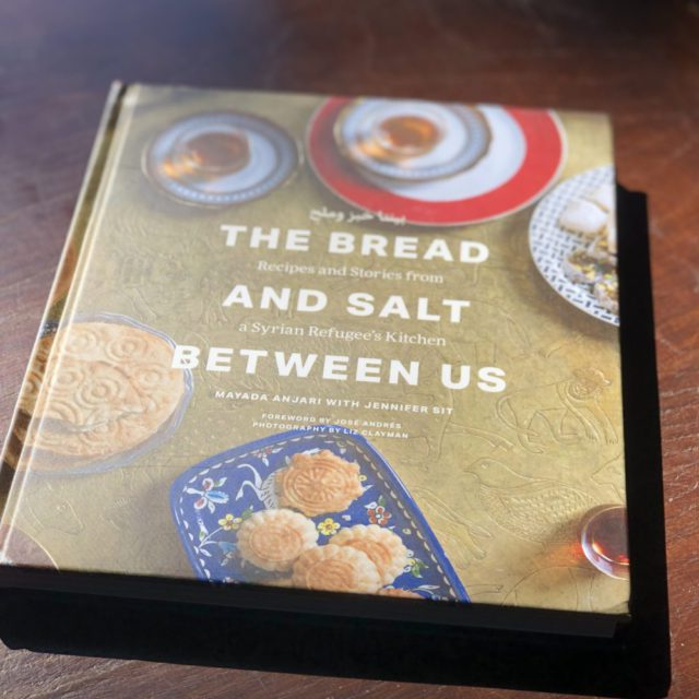 the bread and the salt in between us