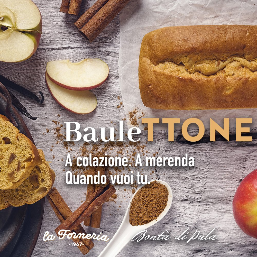 bauleTTONE Mela e Cannella