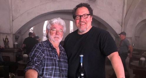 Jon Favreau George Lucas The Mandalorian