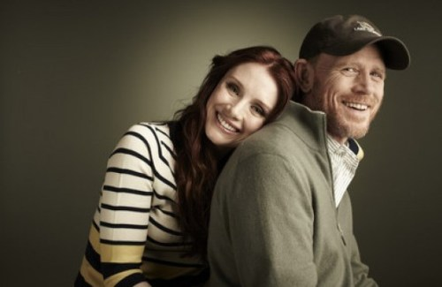 Bryce Dallas Howard y Ron Howard