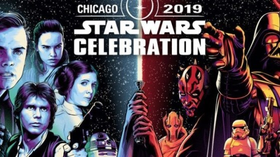 Horarios de la Star Wars Celebration Chiago 2019