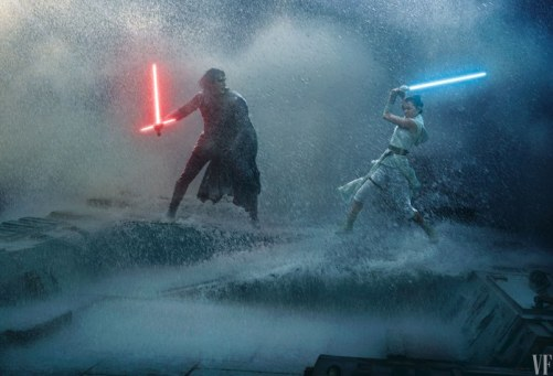 El Ascenso de Skywalker: Vanity Fair