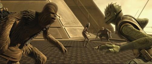 Chewbacca Trandoshanos The Clone Wars