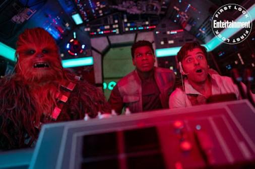 Star Wars Episodio 9 El Ascenso de Skywalker Poe, Finn, Chewie