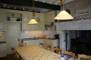 La cuisine du château de La Fouquerie