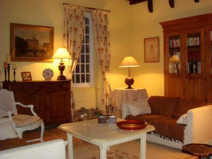 Un salon du château de La Fouquerie