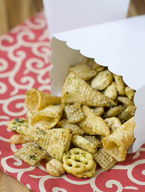Sweet and Salty Chex Mix Arare