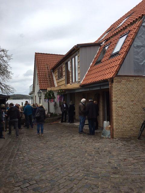 Neubau eines Fischerhauses auf dem Holm mit Betriebsteil und Betriebswohnung
