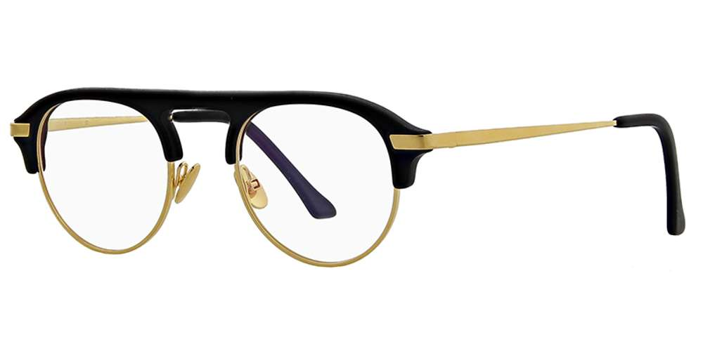 Gafas John Dalia blanco y negro
