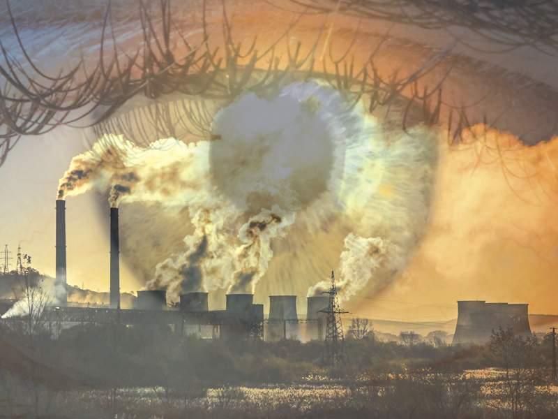 ¿Sabías que la contaminación ambiental afecta tu salud visual?