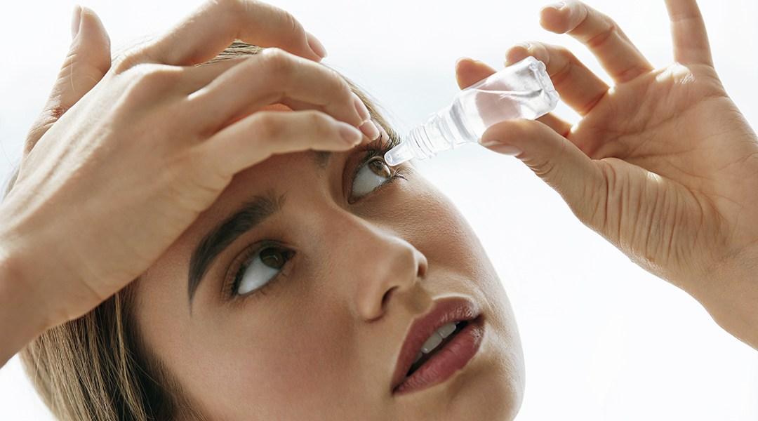 Uso de lágrima artificial