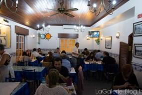 salle du restaurant à ericeira