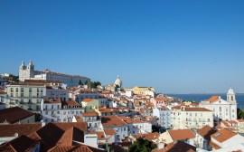 vue panoramique sur lisbonne