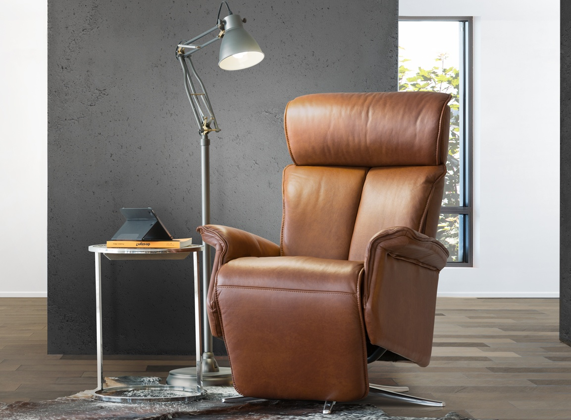 fauteuil inclinable cuir 878