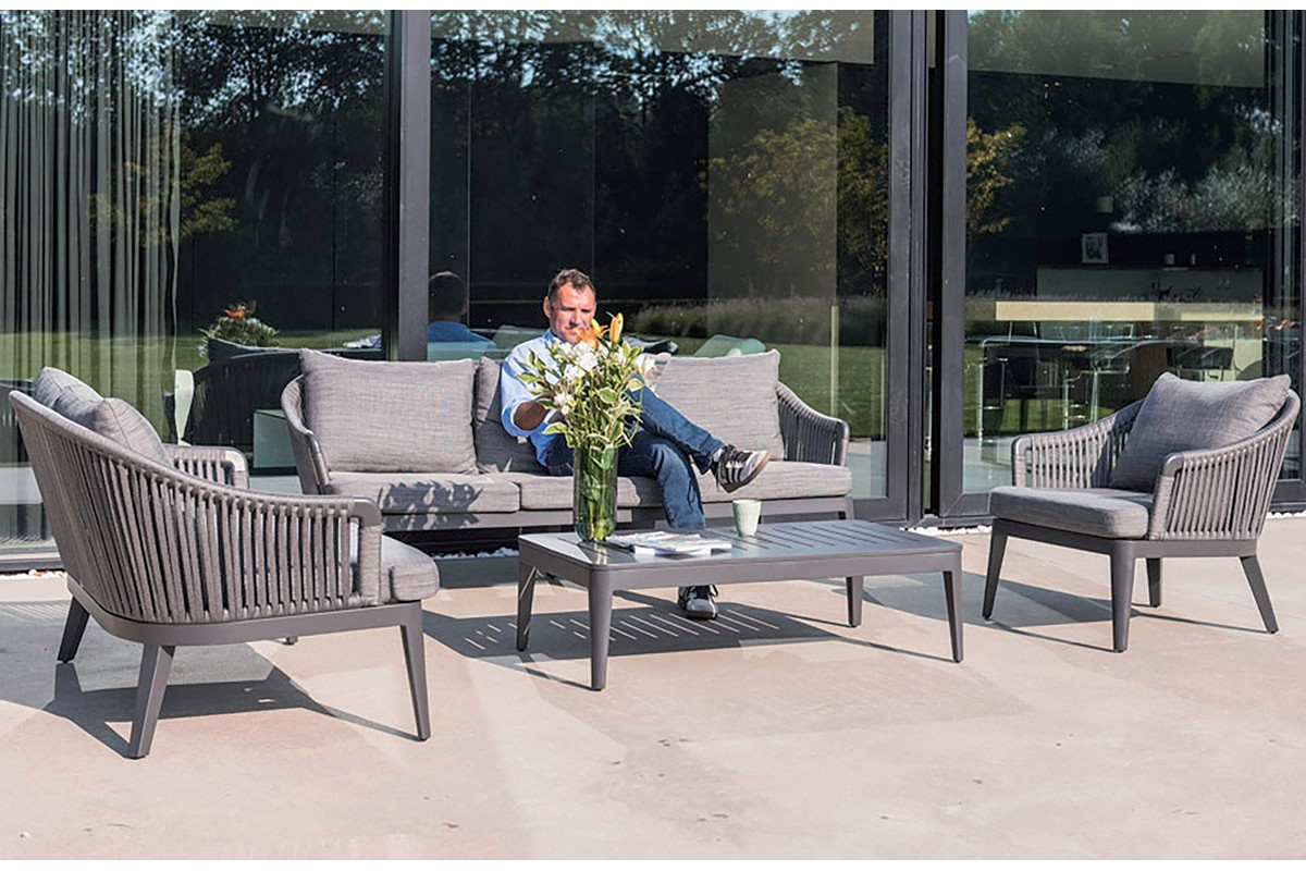 salon de jardin design avec canape