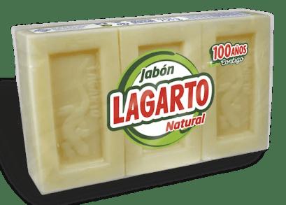 Jabón Lagarto Natural 3X250 gr