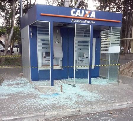 Explosão de caixa eletrônico ocorreu na cidade de Lagarto