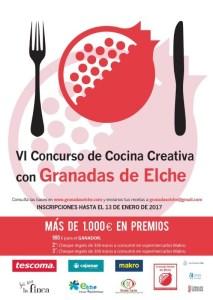 VI Concurso Cocina con Granada de Elche