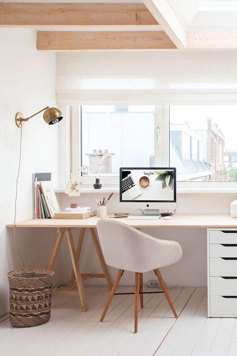 Utilizzate una consolle allungabile come scrivania. L Ufficio In Casa Idee E Soluzioni Cui Ispirarvi La Gatta Sul Tetto