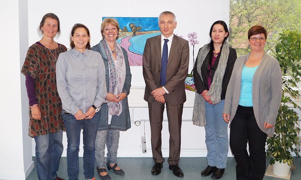 Sabine Wölfle, zu Gast bei Lagaya