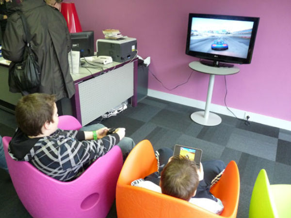 Jeux vidéo à la médiatheque de Condé-sur-Noireau (Calvados)