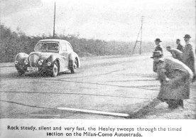 La Healey Elliott atteind les 100 km/h