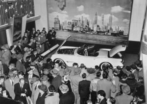 Chevrolet Corvette au motorama de 1953