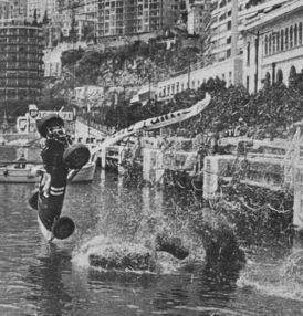 Grand Prix de Monaco - Paul Hawkins - 1955