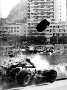 Grand Prix de Monaco - Accident de Bandini en 1967