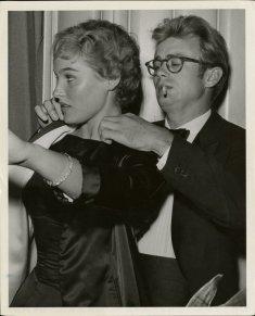 Ursula Andress à 19 ans avec James Dean
