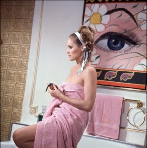 Ursula Andress dans Casino Royale en 1967