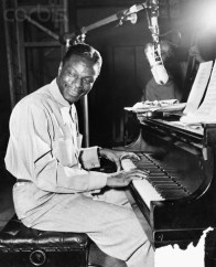 Nat King Cole Playing Piano