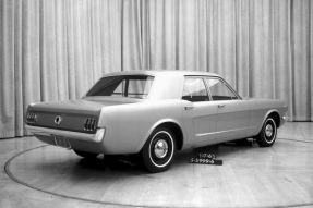 Concept 5 portes de la Ford Mustang en janvier 1963