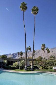 """La célèbre villa de Franck Sinatra """"Twin Palms"""""""