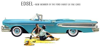 Edsel convertible de 1960