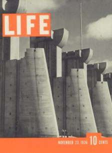 Couverture du 1er numéro de LIFE du 23 novembre 1936