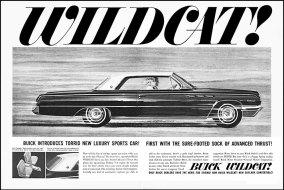 Publicité Wildcat Sport coupe de 1962