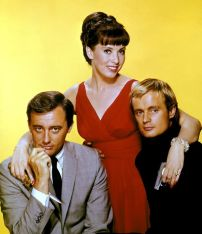 Robert-Vaughn, Stefanie Powers et David-McCallum dans la série U.N.C.L.E.