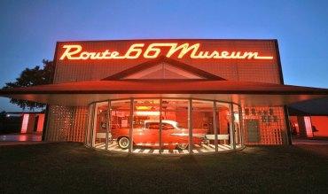 Musée Route 66 de Clinton dans l'Oklaoma