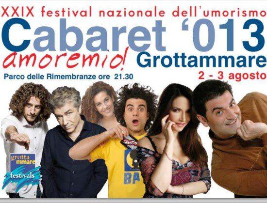 Cabaret, amoremio 2013. Vince Emiliano Petruzzi
