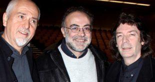 Peter Gabriel, Mario Giammetti e Steve Hackett