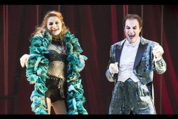 Cabaret - Giampiero Ingrassia e Giulia Ottonello