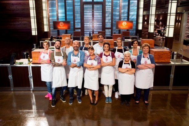 Cast Celebrity MasterChef