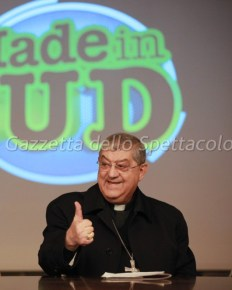 Il Cardinale Crescenzio Sepe a Made in Sud 2017
