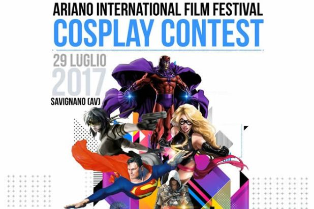 Cosplayer per Ariano International Film Festival